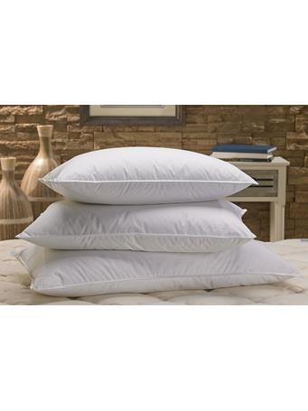 DOWN INC. - Cambric Snow White Down Pillow WHITE