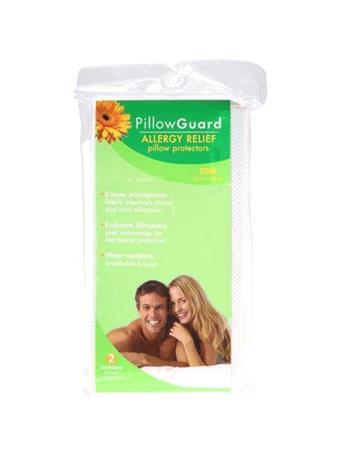 MATTRESS GUARD - Allergy Relief Pillow Encasement- Multiple Sizes WHITE