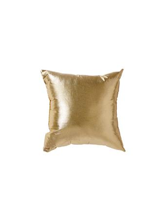 Decorative Gold Pillow - Tissue Lame GOLD