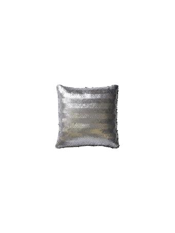 Decorative  Pillow - Gilded Silver SILVER