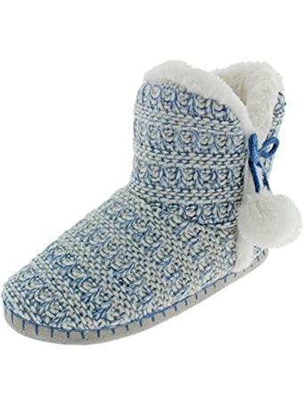CAPELLI - Knit Boot Slipper BLUE-COMBO