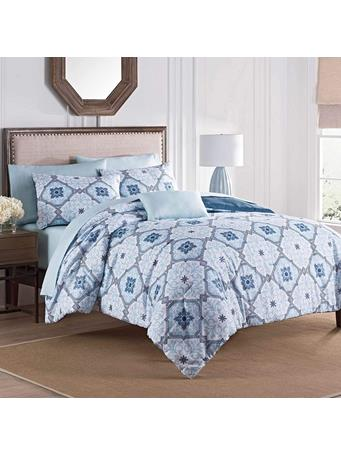 MARTEX - Ankara Complete Bed in a Bag BLUE