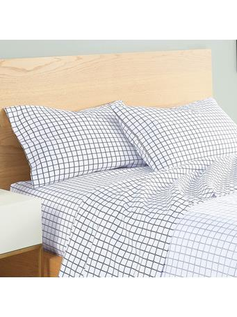 UTICA -  Out Of The Box Sheet Set BLACK/WHITE