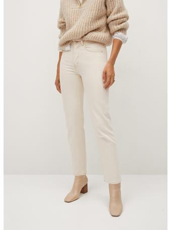 MANGO - Premium Jeans NATURAL-WHITE