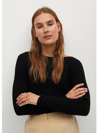 MANGO - Margot Sweater BLACK