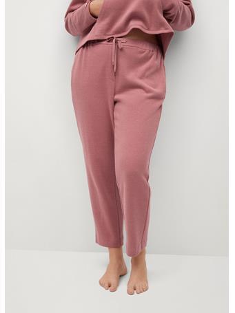 Violeta by MANGO - Cupcake Trousers MEDIUM PINK