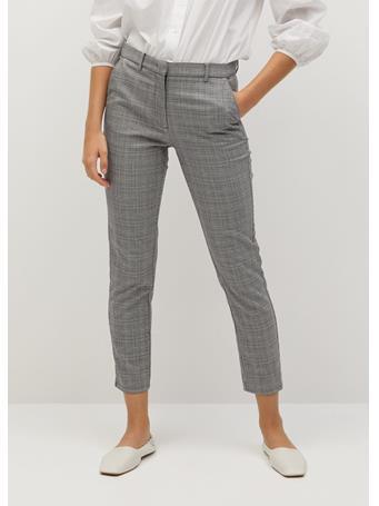MANGO - Warm Trousers LT-PASTEL-GREY