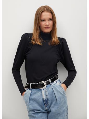 MANGO - Belinda T-Shirt BLACK