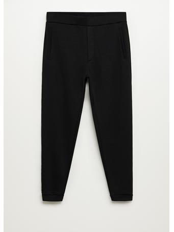 MANGO - Pocket Jogger Pants BLACK