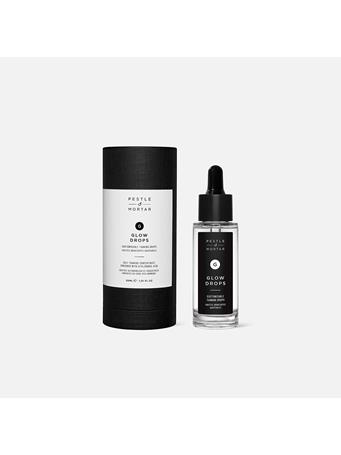 PESTLE & MORTAR - Glow Drops  Customizable Face Tanning - 30ML / 1.01 FL OZ NO-COLOUR