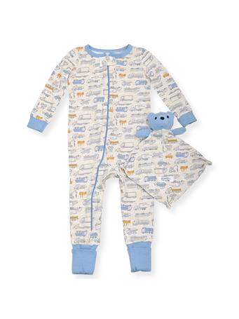 SLEEP ON IT - Coveralls With Toy Cars (12M-24M) NOVELTY