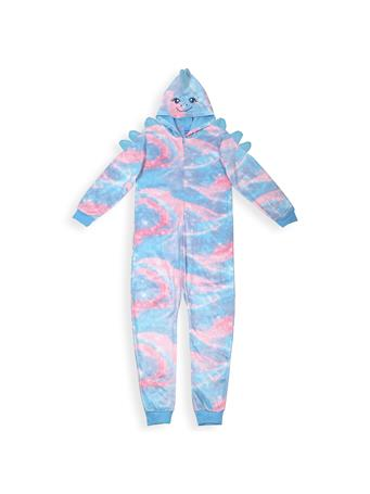 SLEEP ON IT - Cute Dino Sleeper With Hood (7-16) NOVELTY
