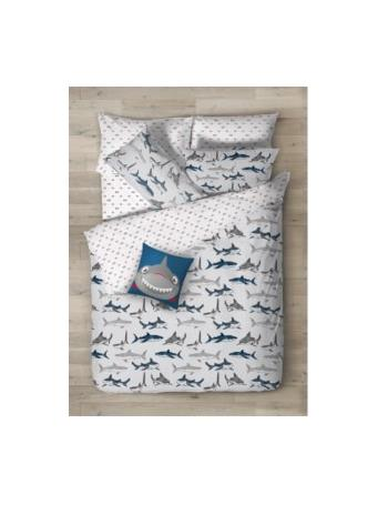 DAY DREAM - Sharks Tank Complete Bed-in-a-Bag Set WHITE