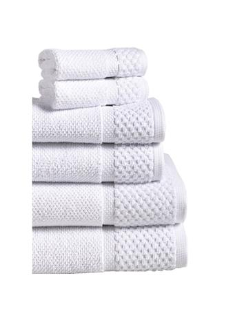 ESPALMA - Diplomat 6Pc. Turkish Cotton Towel Set WHITE