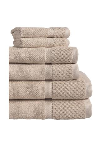 ESPALMA - Diplomat 6Pc. Turkish Cotton Towel Set TAUPE