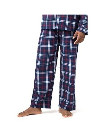 SLEEPGOOD - Flannel Pajama Pant NAVY-RED-WHITE-PLAID