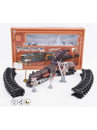 Mechanical Train Set With Lights and Sounds NOVELTY