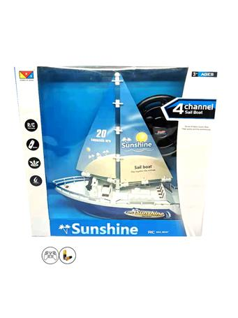 Remote Control Sail Boat (3Y+) NOVELTY