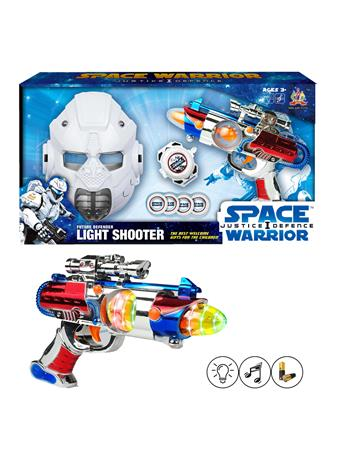 Space Warrior Set With Mask and Blaster (3Y+) NOVELTY