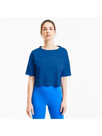 PUMA - PUMA x FIRST MILE Mono Women's Training Tee LAPIS BLUE