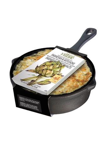 GOURMET DU VILLAGE - Cast iron skillet with Parmesan & Artichoke Dip mix NO COLOR