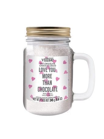 GOURMET DU VILLAGE - Hearts & Love Hot Chocolate Jar NO COLOR
