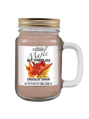 GOURMET DU VILLAGE - Hot Chocolate mason Jars-Maple NO COLOR