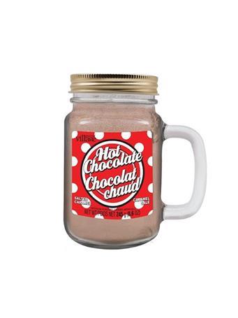 GOURMENT DU VILLAGE - Polka Dot Hot Chocolate Mason Jar NO COLOR