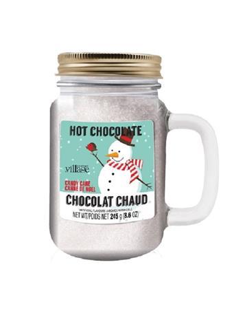 GOURMET DU VILLAGE - Hot Chocolate Mason Jars-Retro Snowman NO COLOR