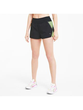 PUMA - Run Lite Women's Woven 3In Shorts BLK/YELLOW