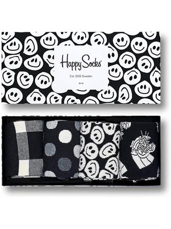 HAPPY SOCKS - Black & White gift box ASST.
