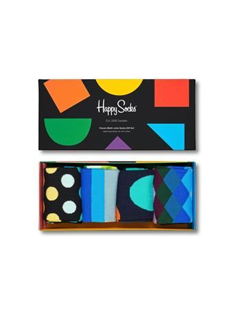 HAPPY SOCKS - 4-pack Classic Multi-Color Socks Gift Set ASST.