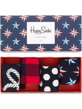 HAPPY SOCKS - Nautical Gift Box ASST.