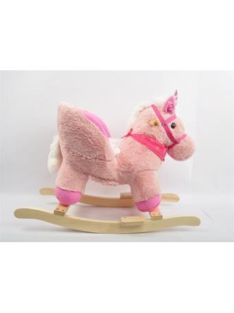 LINZY TOYS - Unicorn Baby Rocker Pink
