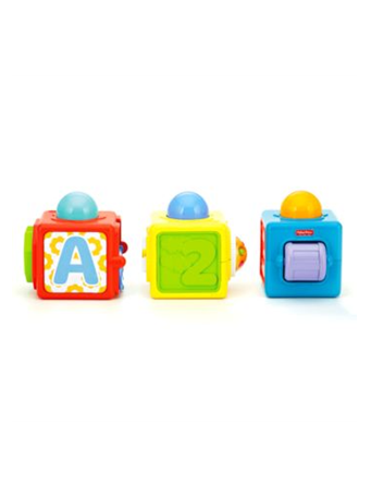 FISHER-PRICE? - Stacking Action Blocks (6M+) No-Color