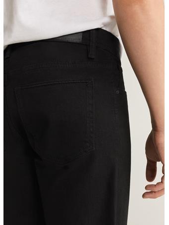 MANGO - Black Denim Bermuda Short BLACK