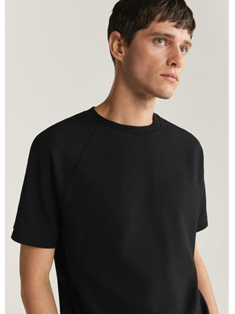 MANGO - Warner Bros Printed Cotton-Blend T-Shirt BLACK