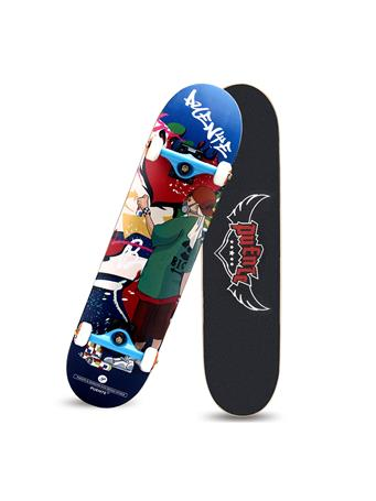 BERMY BOARDS - Graffiti Senior Pro Skateboard SENIOR
