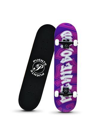 BERMY BOARDS - Graffiti Skateboard PURPLE