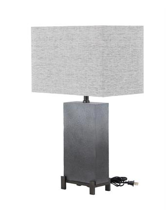 UMA - Gray Table Lamp 25