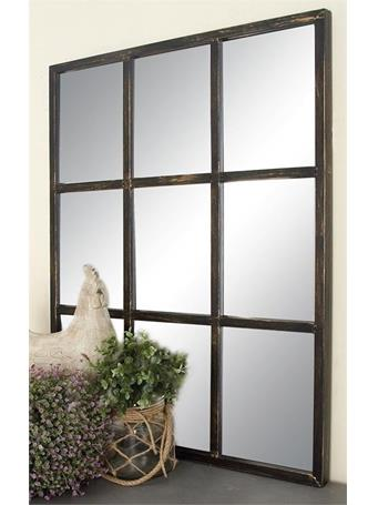 UMA - Windowpane Metal Mirror 27