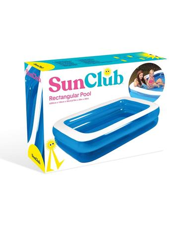 SUN CLUB - 2 Layer Inflatable Pool BLUE