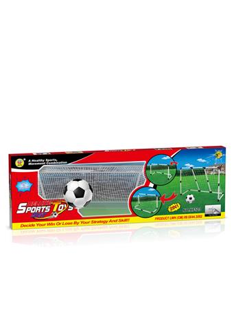 Small Football Net BLUE