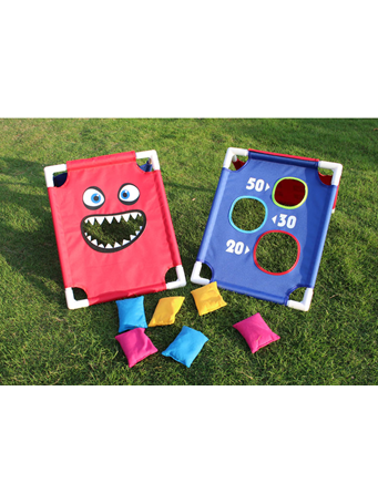 Bean Bag Toss Game RED