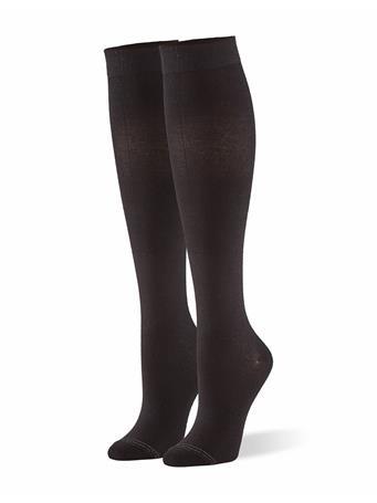 HUE - Compression Knee Socks 79001 BLACK