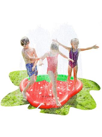 AIR MY FUN - Strawberry Sprinkler Pad RED