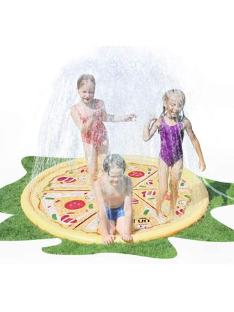 AIR MY FUN - Pizza Sprinkler Pad YELLOW
