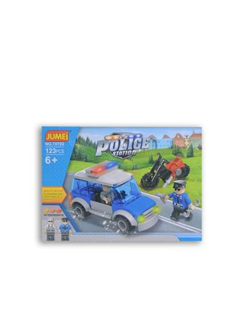 JUMEI - 123 PC. Police Station Building Blocks Set POLICE