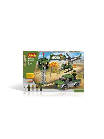 JUMEI - 325 PC. Military Game Building Blocks Set MILITARY