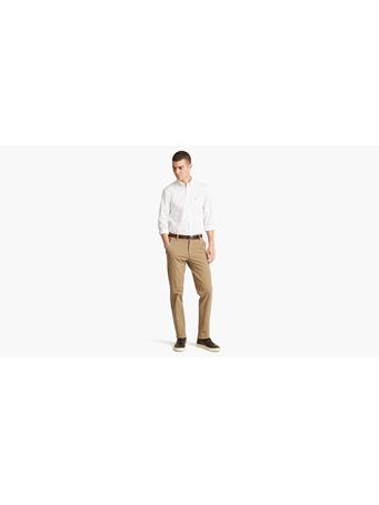 DOCKERS - Work Day Khaki Slim Tapered SAFARI-BEIGE